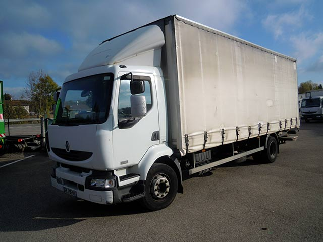Photo Renault midlum 270.16 hayon retractable 1T5 dhollandia
