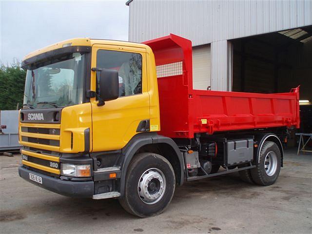 Photos de camions tracteur de camion camions camions - Camion benne americain ...