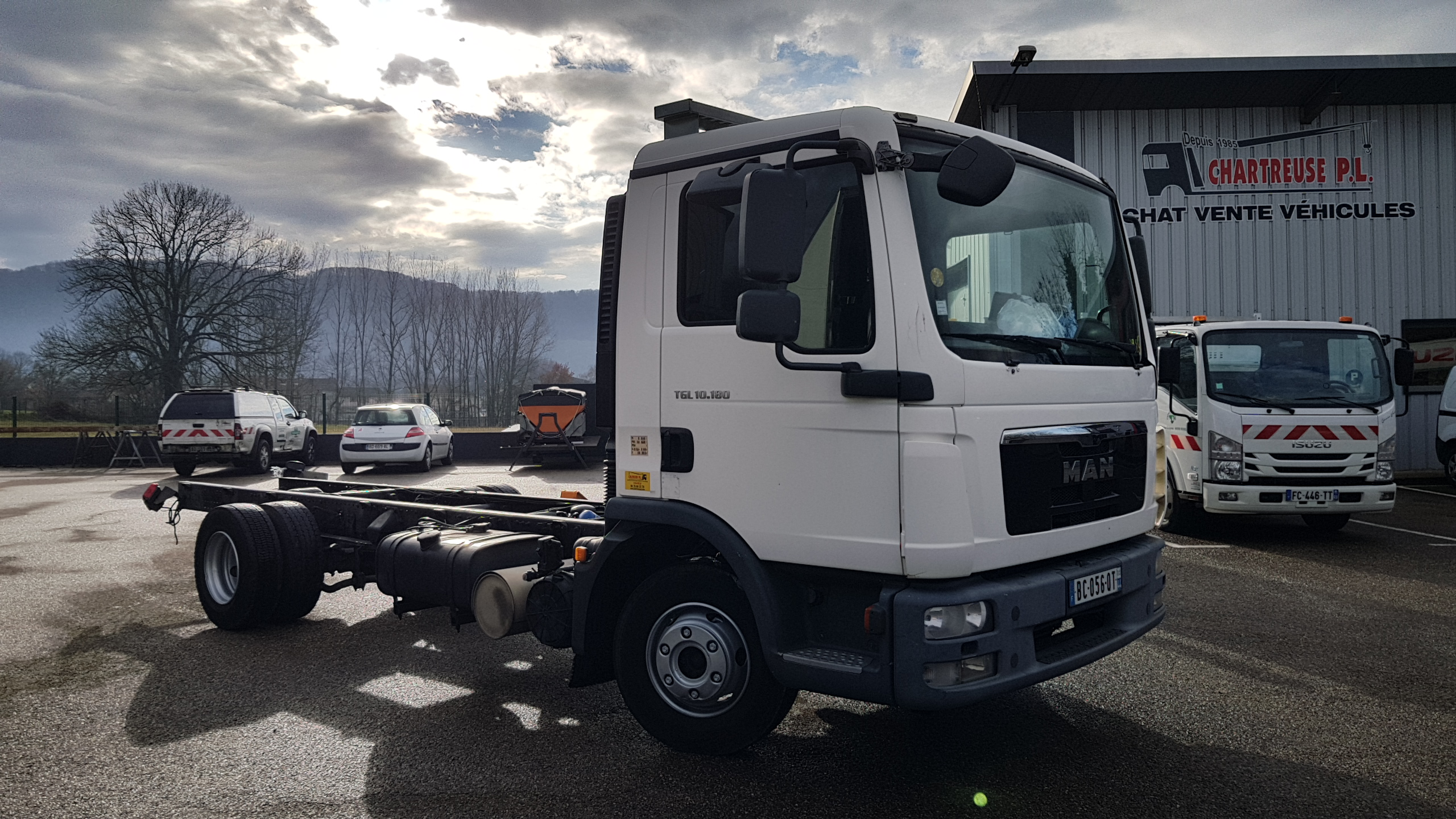 Photo Camion MAN TGL 10.180