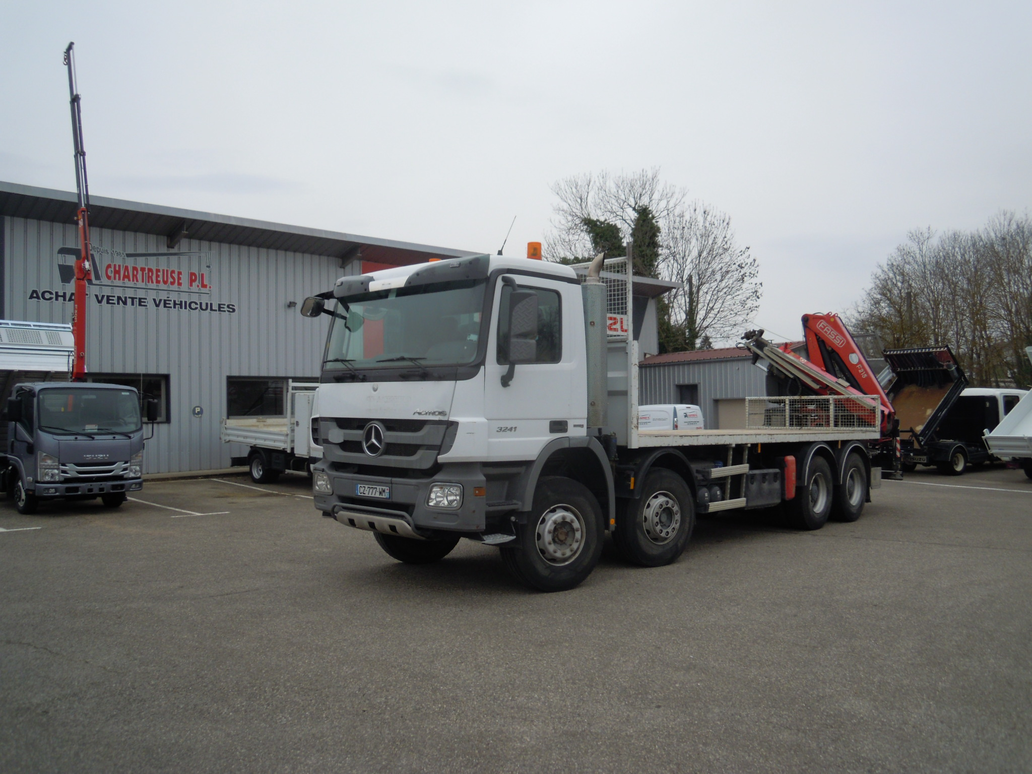 Photo MERCEDES ACTROS 32.41 KN